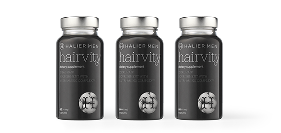 Hairvity Men - traitement de 3 mois